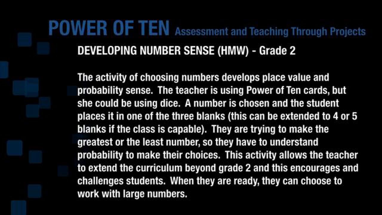 Developing Number Sense Gr2 HMW 1