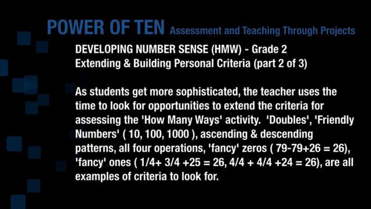 Developing Number Sense Gr2 HMW 2
