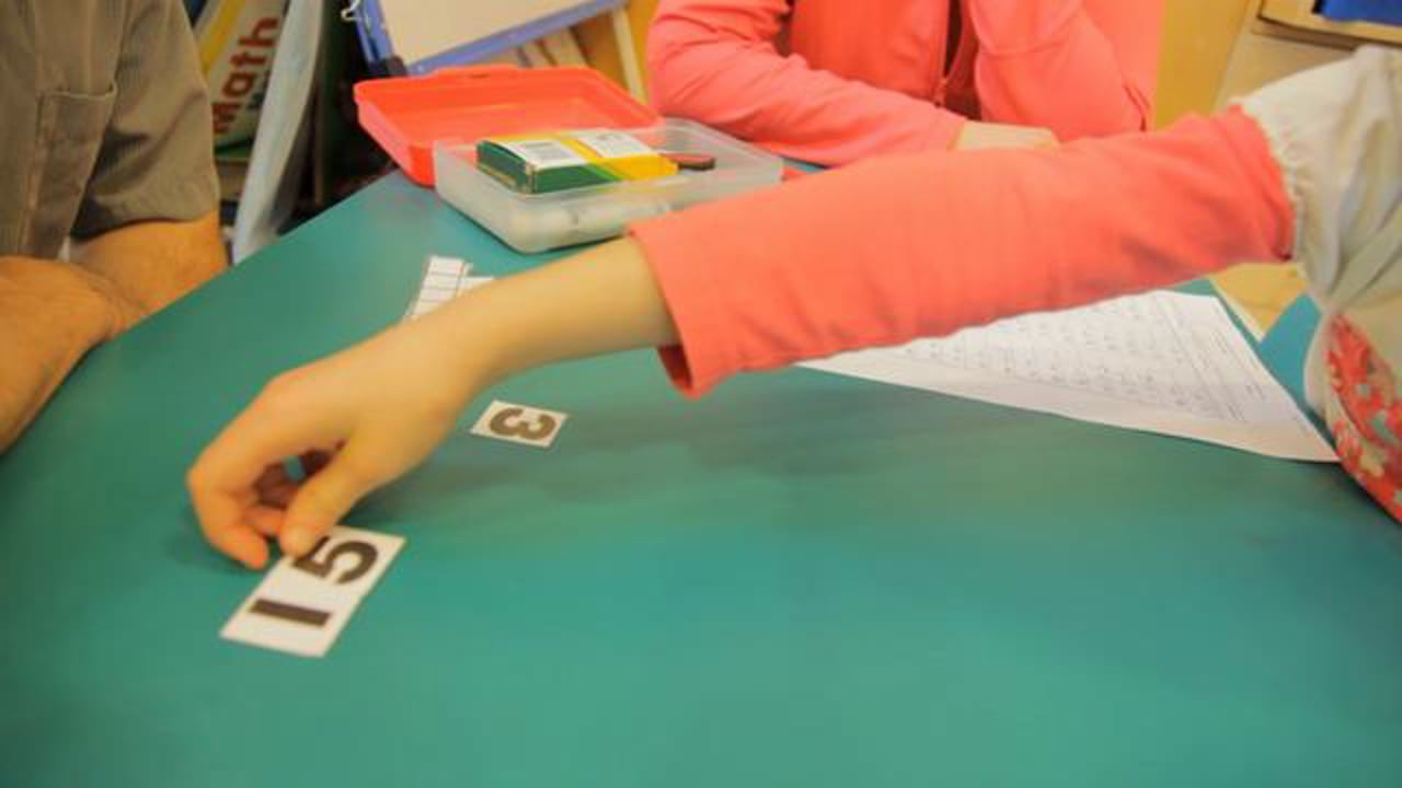 Power of Ten in Action - the Power of Visualization When Subtracting
