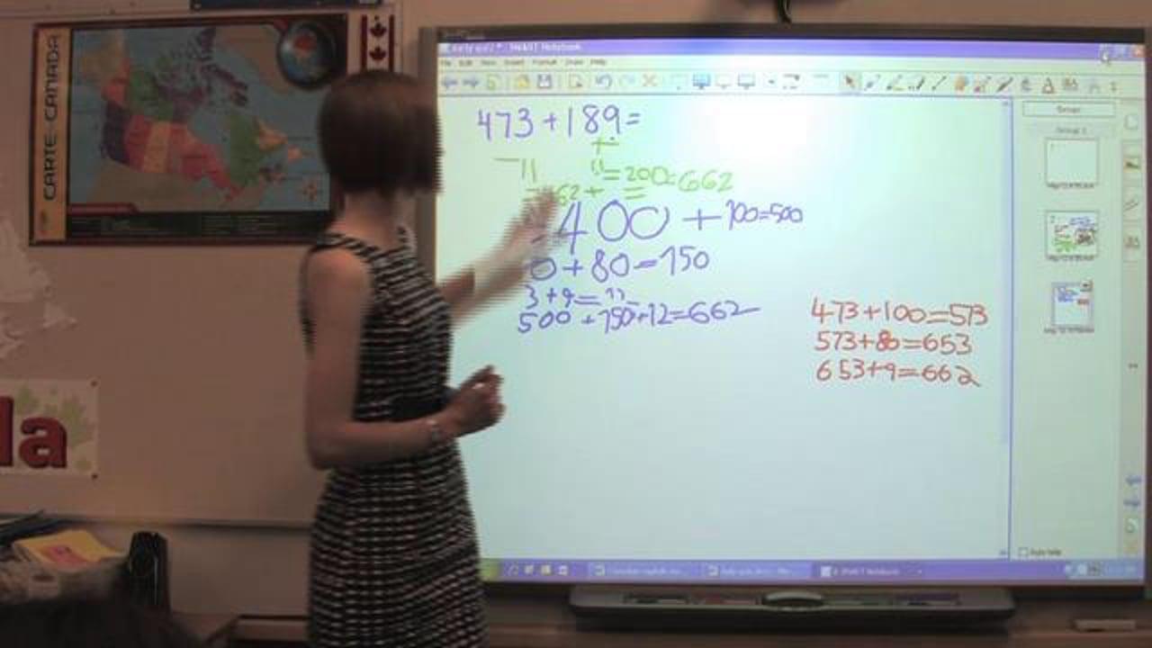 Adding using Principle of Equivalence