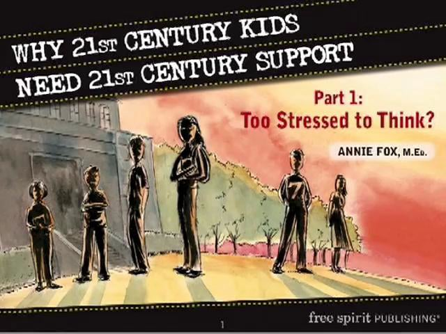 Why 21st Century Kids Need 21st Century Support. Part 1