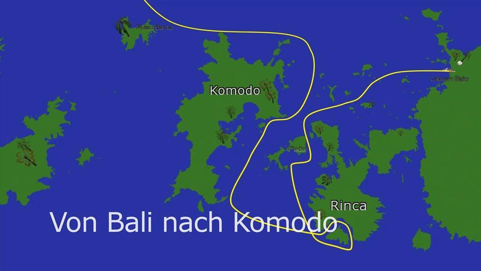 Von Bali nach Komodo