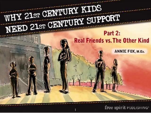 Why 21st Century Kids Need 21st Century Support Part 2