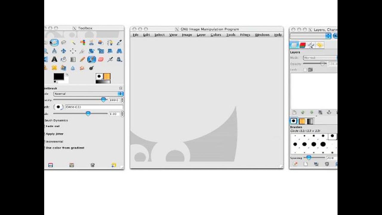 Setting Up GIMP
