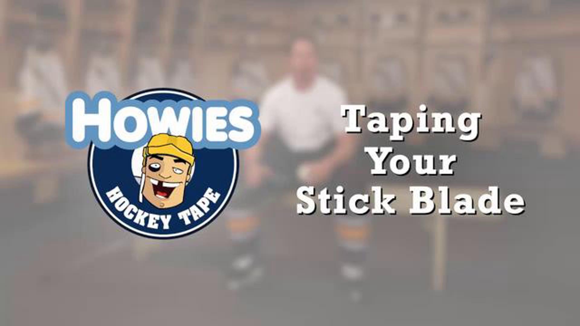 How to tape a Hockey Stick Blade