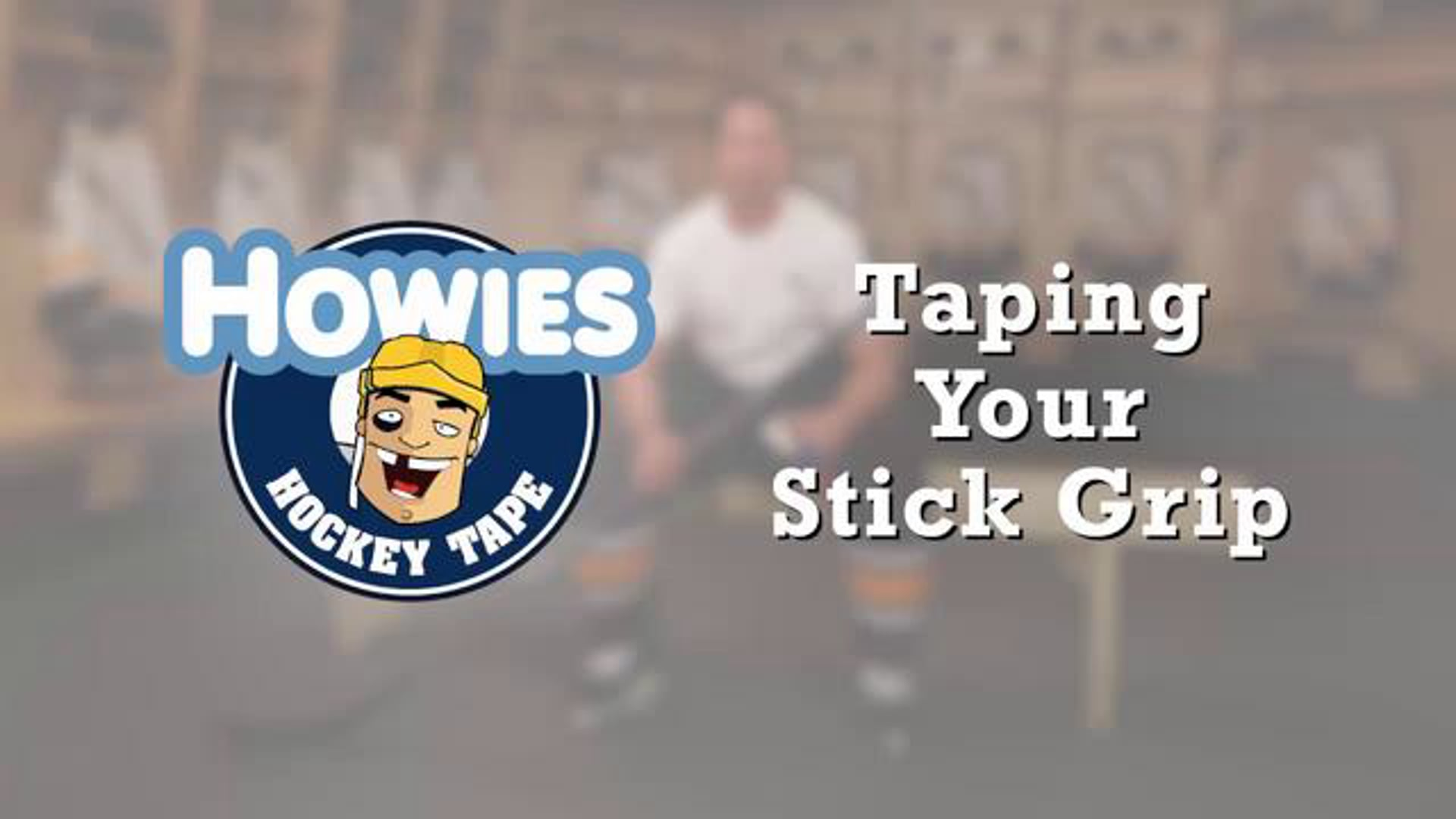 How to tape a Hockey Stick Grip