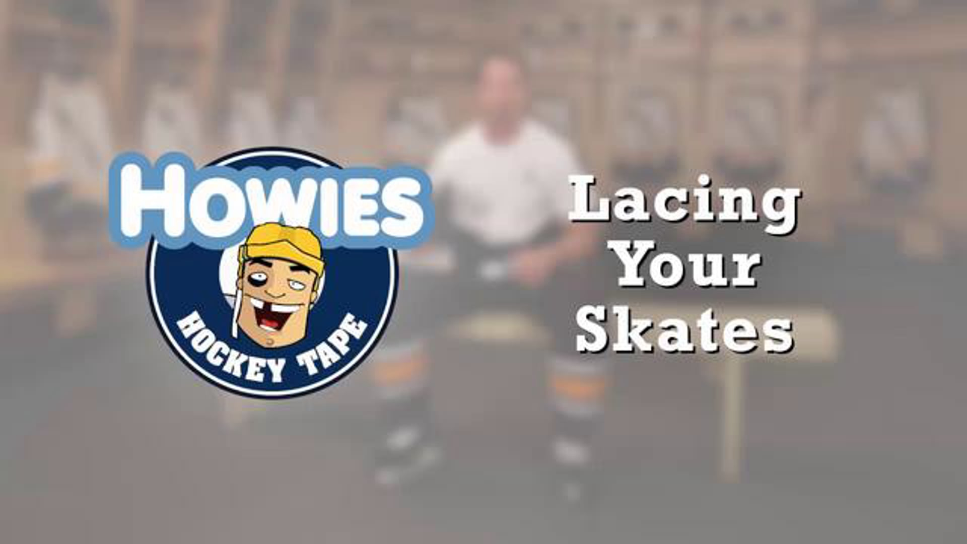 How to lace your hockey skates