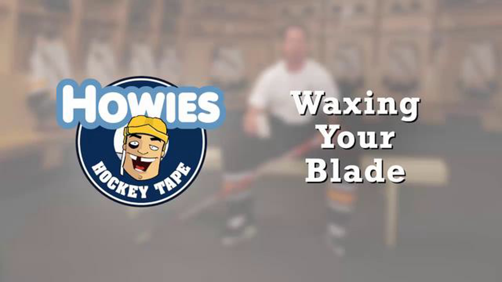 How to wax a stick blade