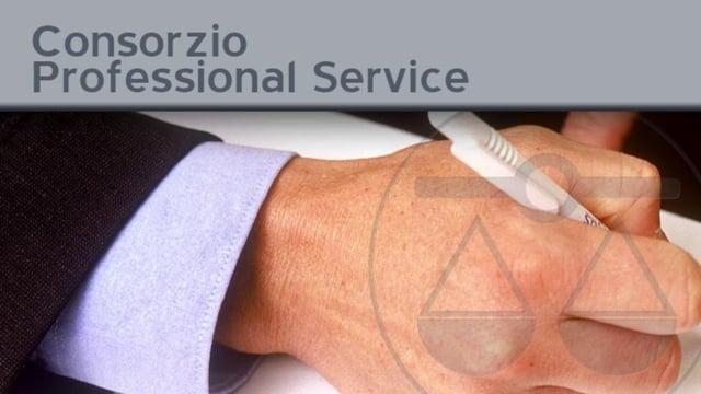 Consorzio Professional Service - 26/9/2011