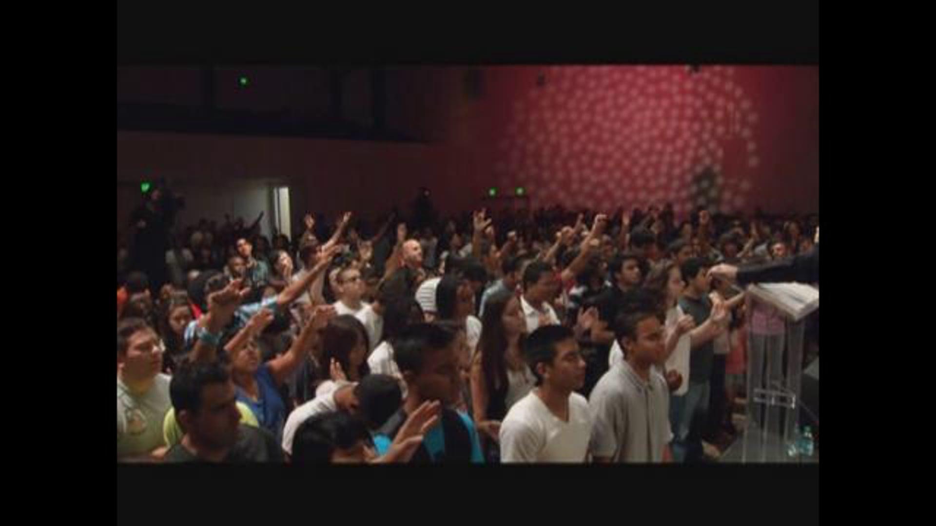 Josh Radford at Cornerstone Church TBN Youth Night