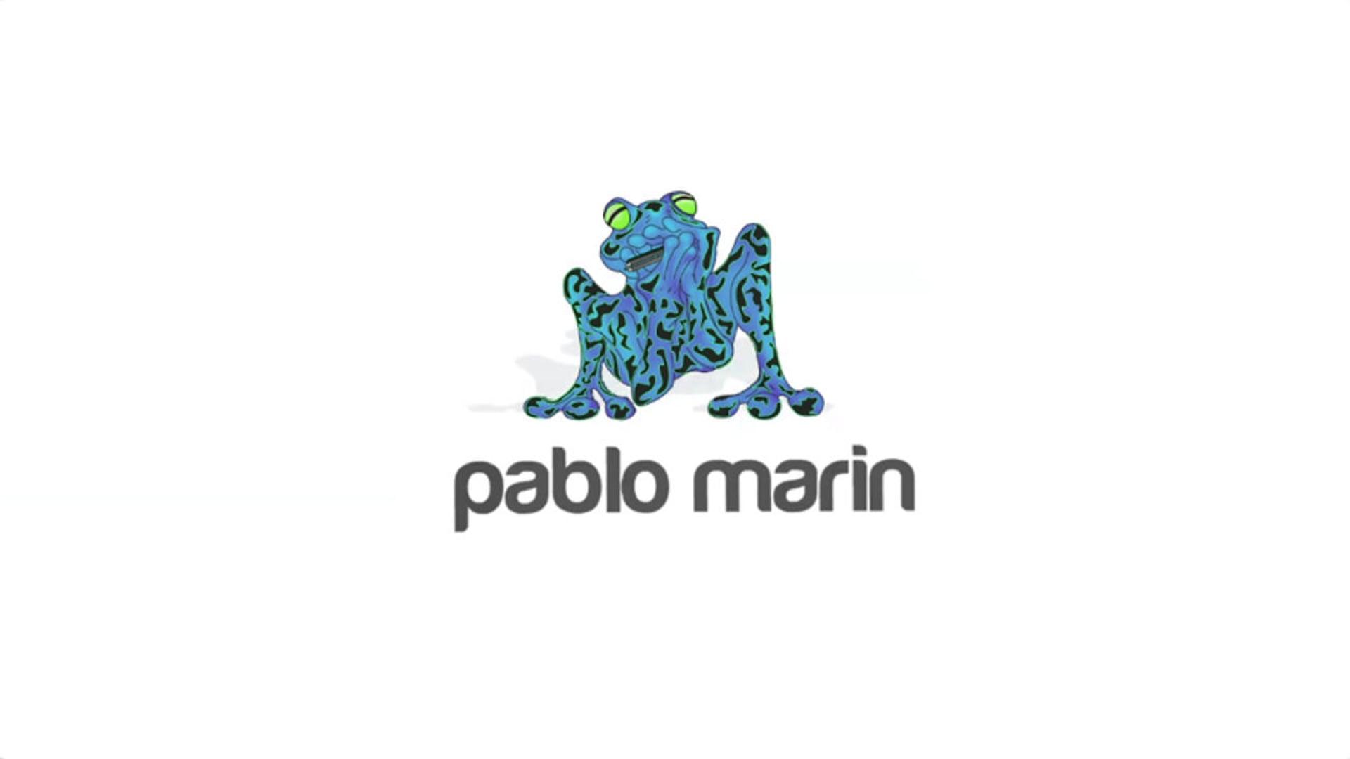 Online portfolio logo animation