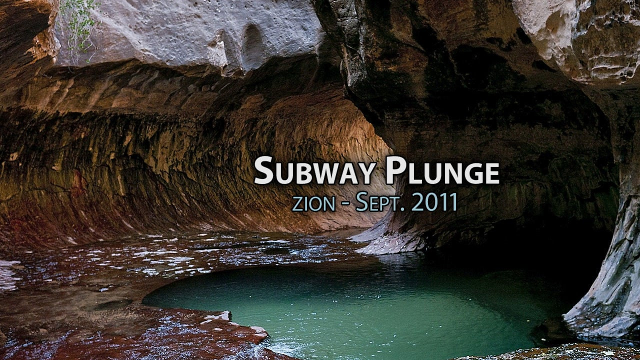 Subway Plunge - Sept. 2011