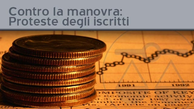Contro la manovra, un coro di proteste dagli iscritti fiorentini - 11/10/2011