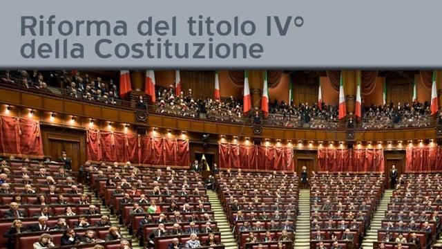 Riforma del Titolo IV° e ruolo dell'Avvocatura - 19/10/2011