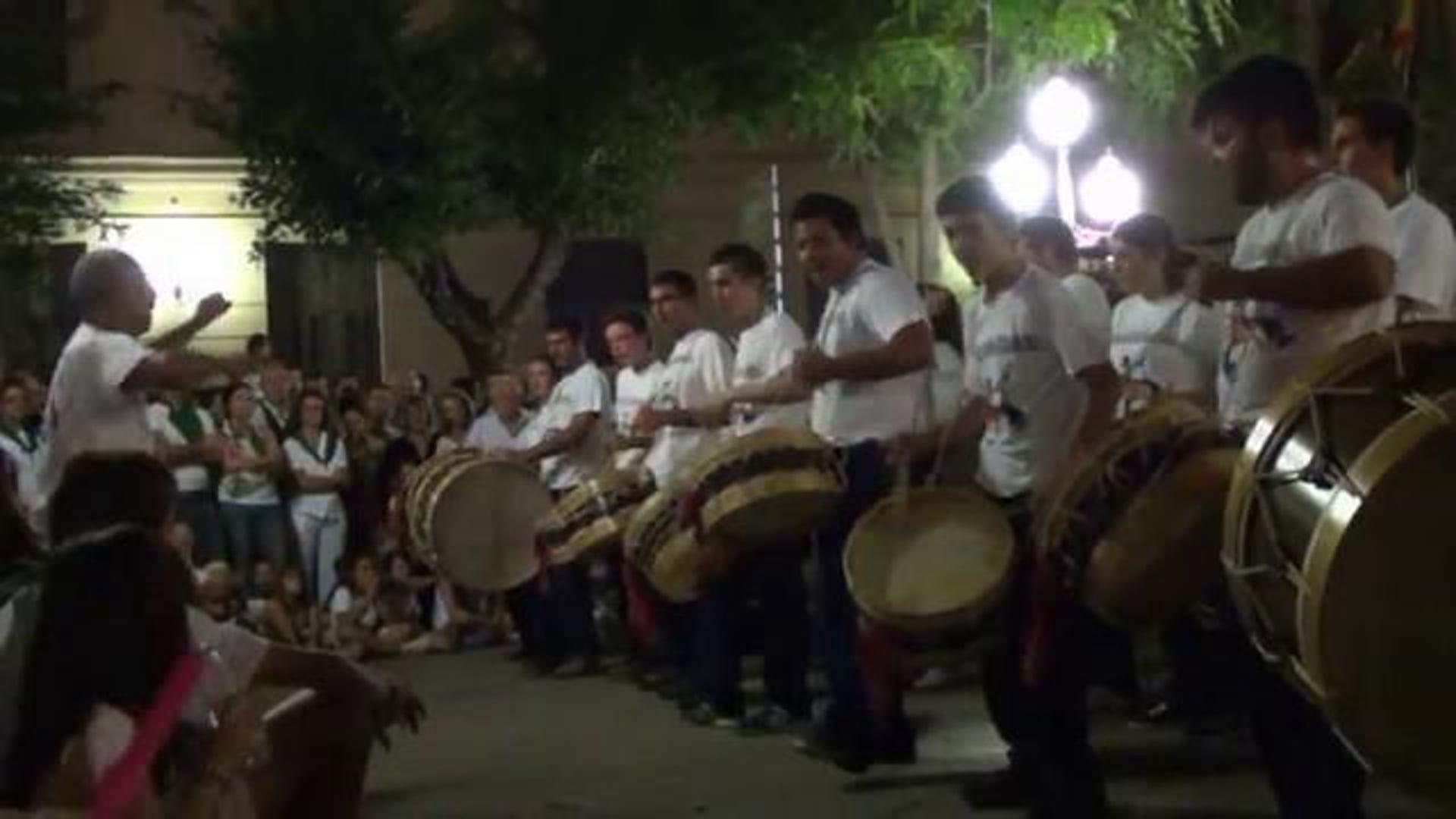 Tocándar em Huesca 2011.08.11
