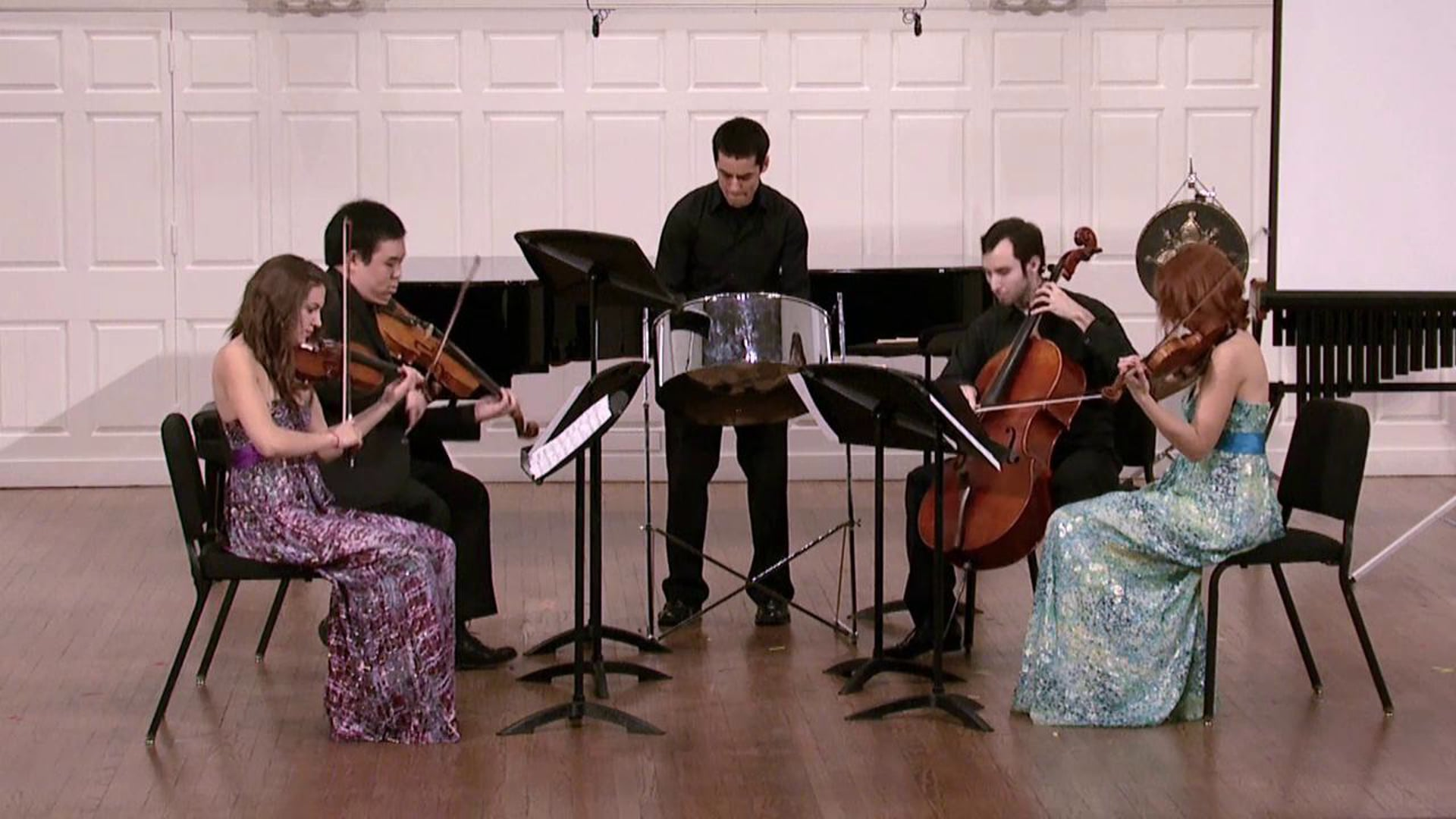The Sound of Steel:  Jordan Kuspa Composes for Steel Pan and String Quartet