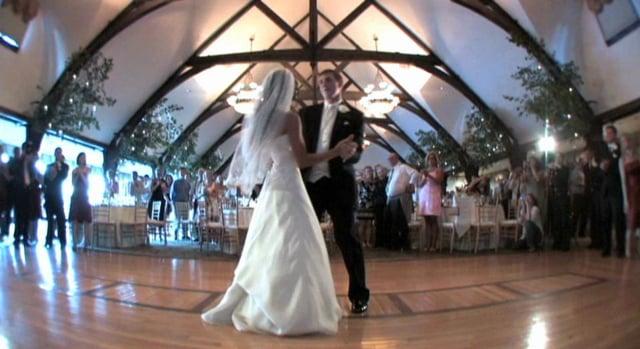 Excerpt from Kristina & Patrick Guerette's Wedding, August 12, 2011.