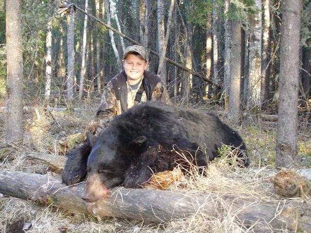 A Youth Hunts Alberta Black Bears