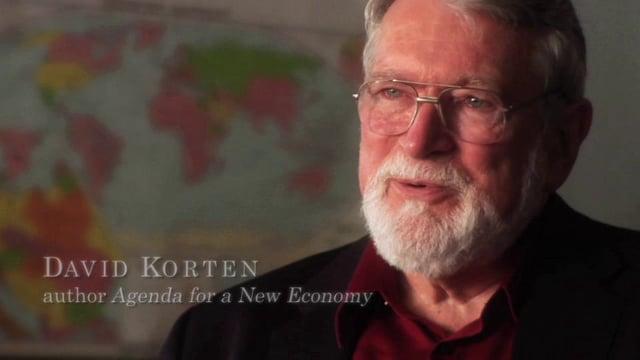 David Korten: Walking Away From the King