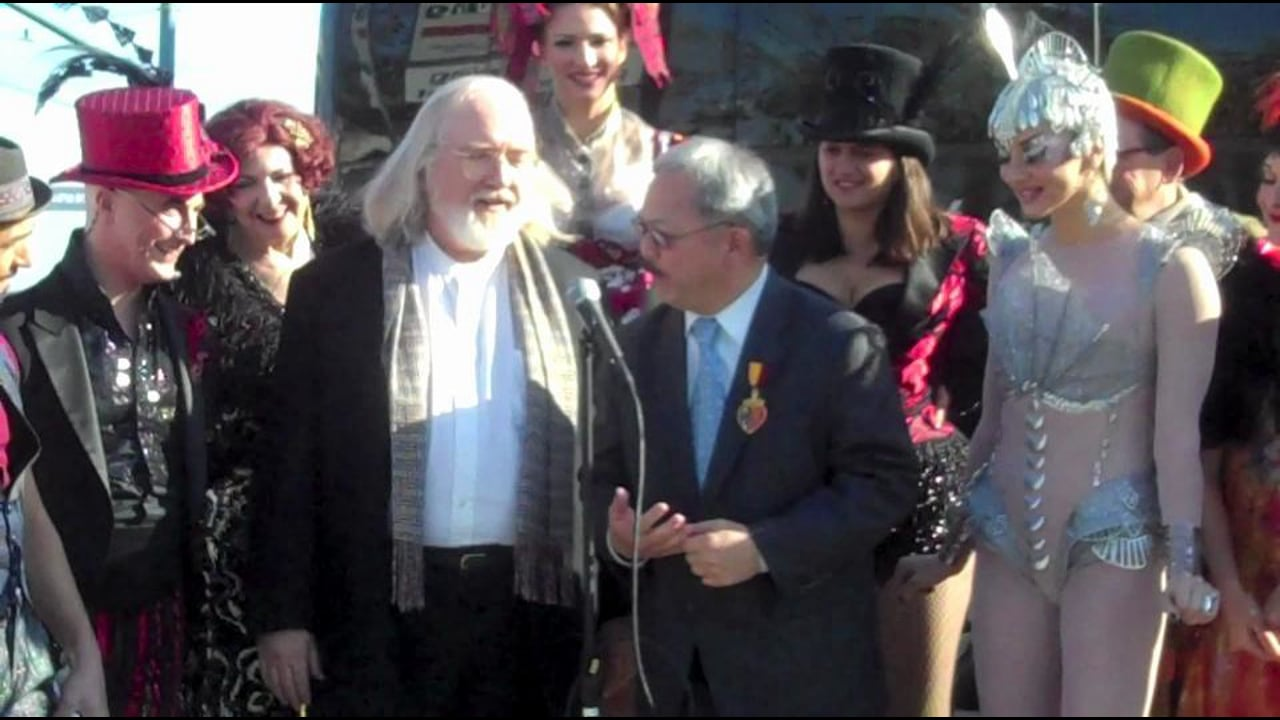 Teatro ZinZanni's Press Conference with Mayor Ed Lee
