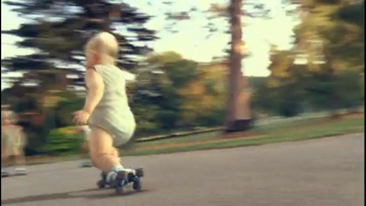 Evian Roller Skating Babies