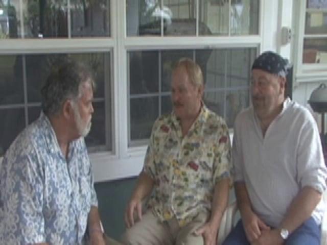 Jason & Airielle with Reverends David Deerfeeder & Ken Micah Murdock