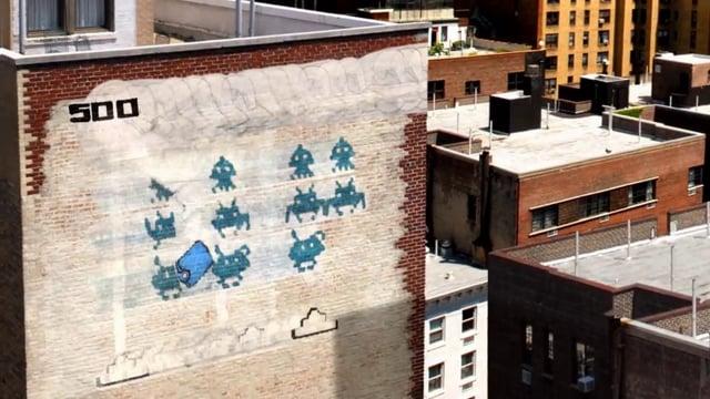 Leumi Bank l Graffiti