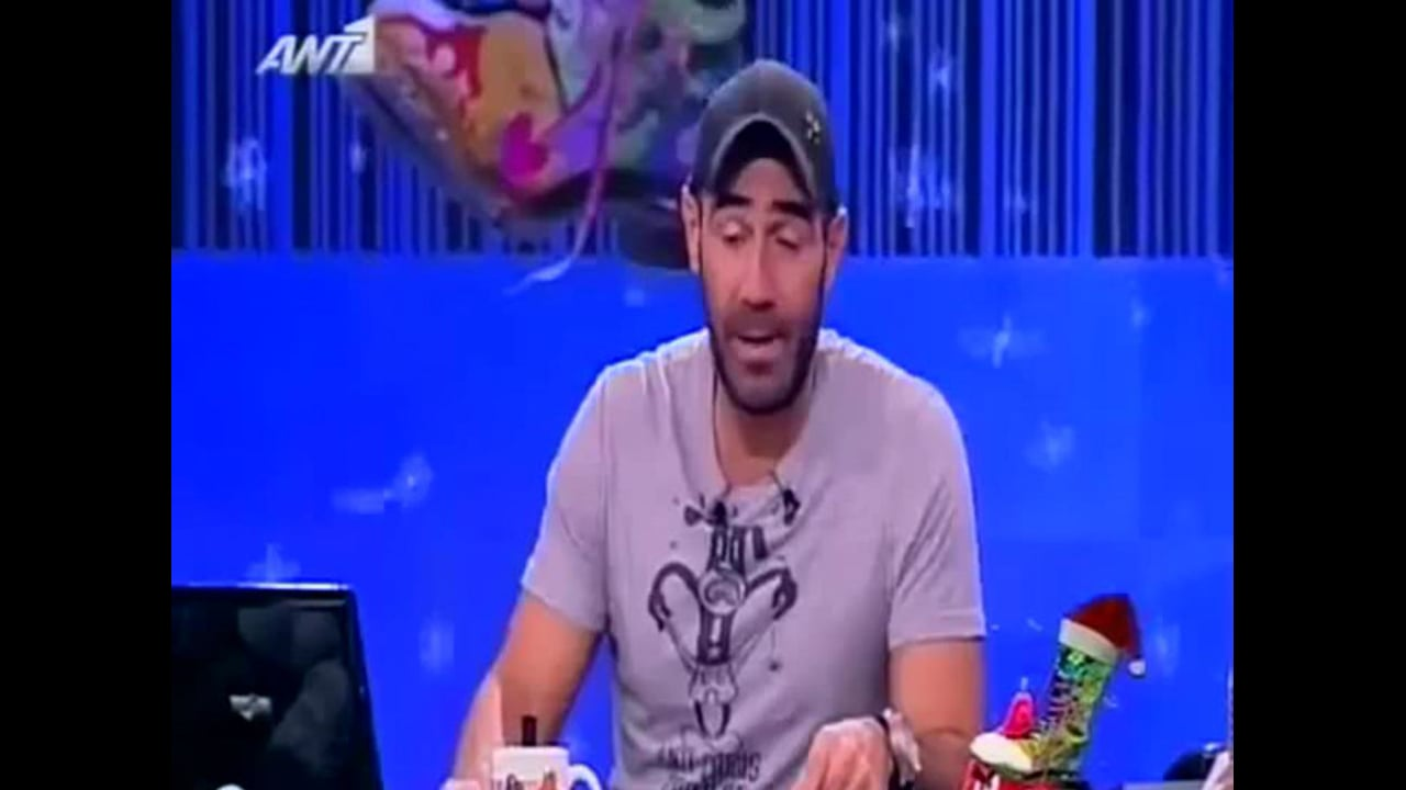 Intellectum Journal in RADIO ARVILA Show_ANT1 TV 2012