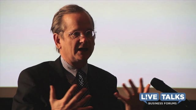 Lawrence Lessig in conversation with John Schwada