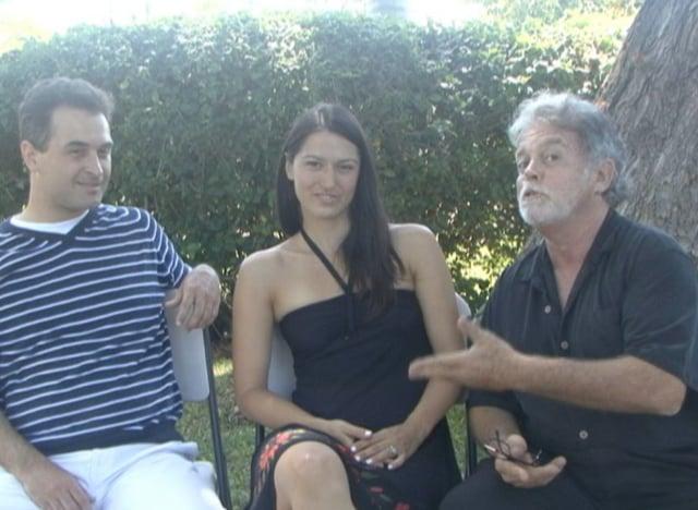 Jason with Dalibor Miklavčič & Eva Kras