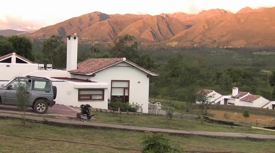 Colombia, Passadhi en Villa de Leiva, Centro de Ayurveda Kamala