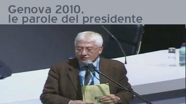 Genova 2010, l' intervento del presidente - 17/2/2012