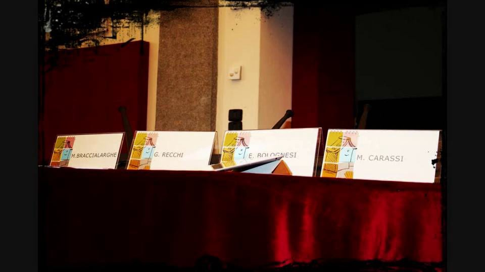 Vietato Non Sfogliare. Conferenza stampa 2012
