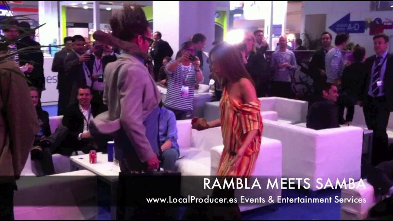 Rambla Meets Samba at Nokia Happy Hour