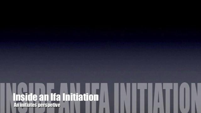 Inside an Ifa Initiation