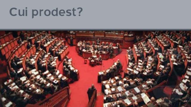 Cui prodest? - 2/3/2012