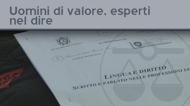 Uomini di valore, esperti nel dire - 14/3/2012