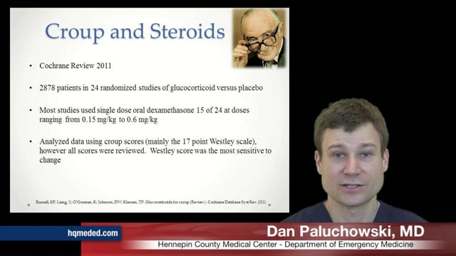 Croup and Steroids