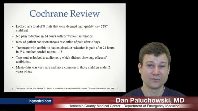 Otitis Media: Antibiotics?