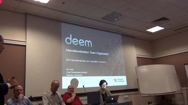Session A5: Building an Internationalization Department
