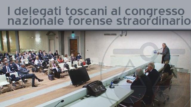 I delegati toscani al congresso nazionale forense straordinario - 22/3/2012