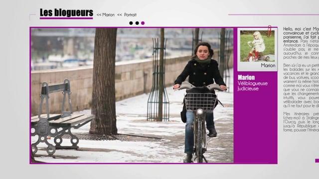 Velib & Moi - Mairie de Paris - Spot motion design