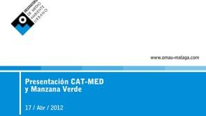 Presentación CAT-MED y Manzana Verde