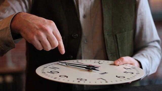 IBM's 1960's Wall Clock