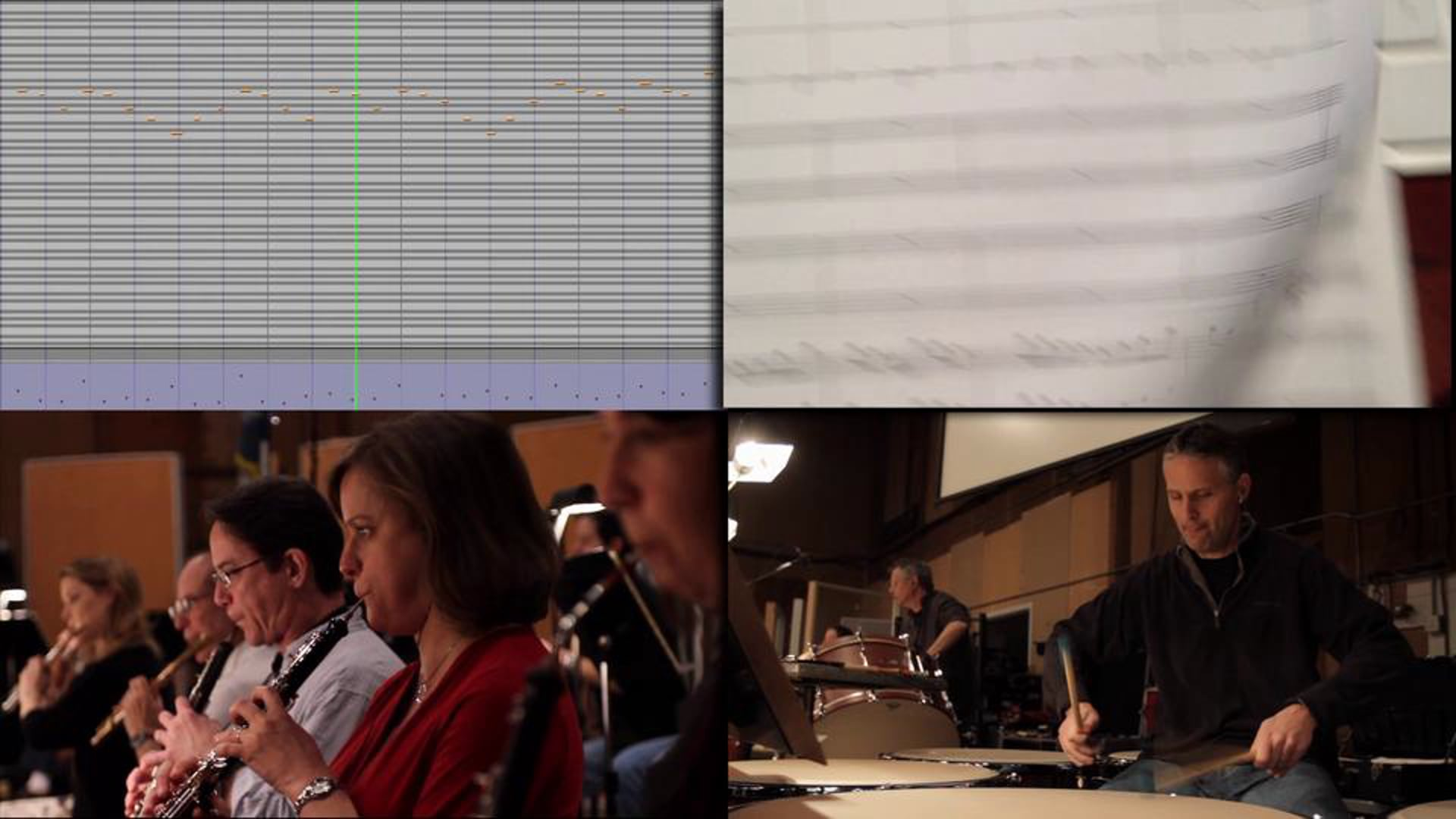 Hollywood Scoring - From Mockup to Orchestration
