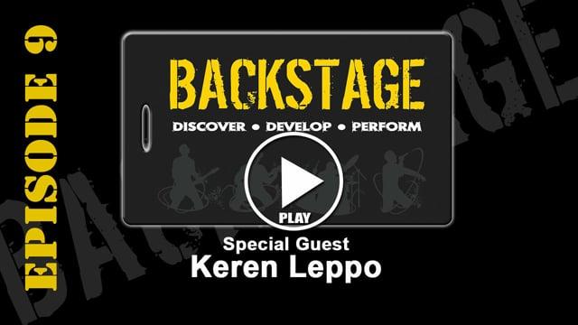 Backstage EP 9 Keren Leppo