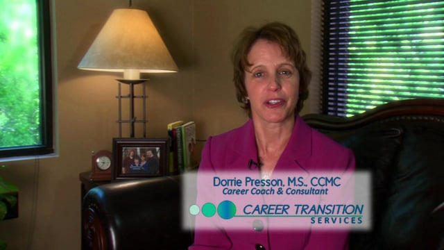 Dorrie Presson, Career Coach and Consultant