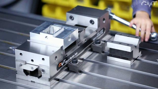 GDV Glacern Double CNC Vise Spotlight