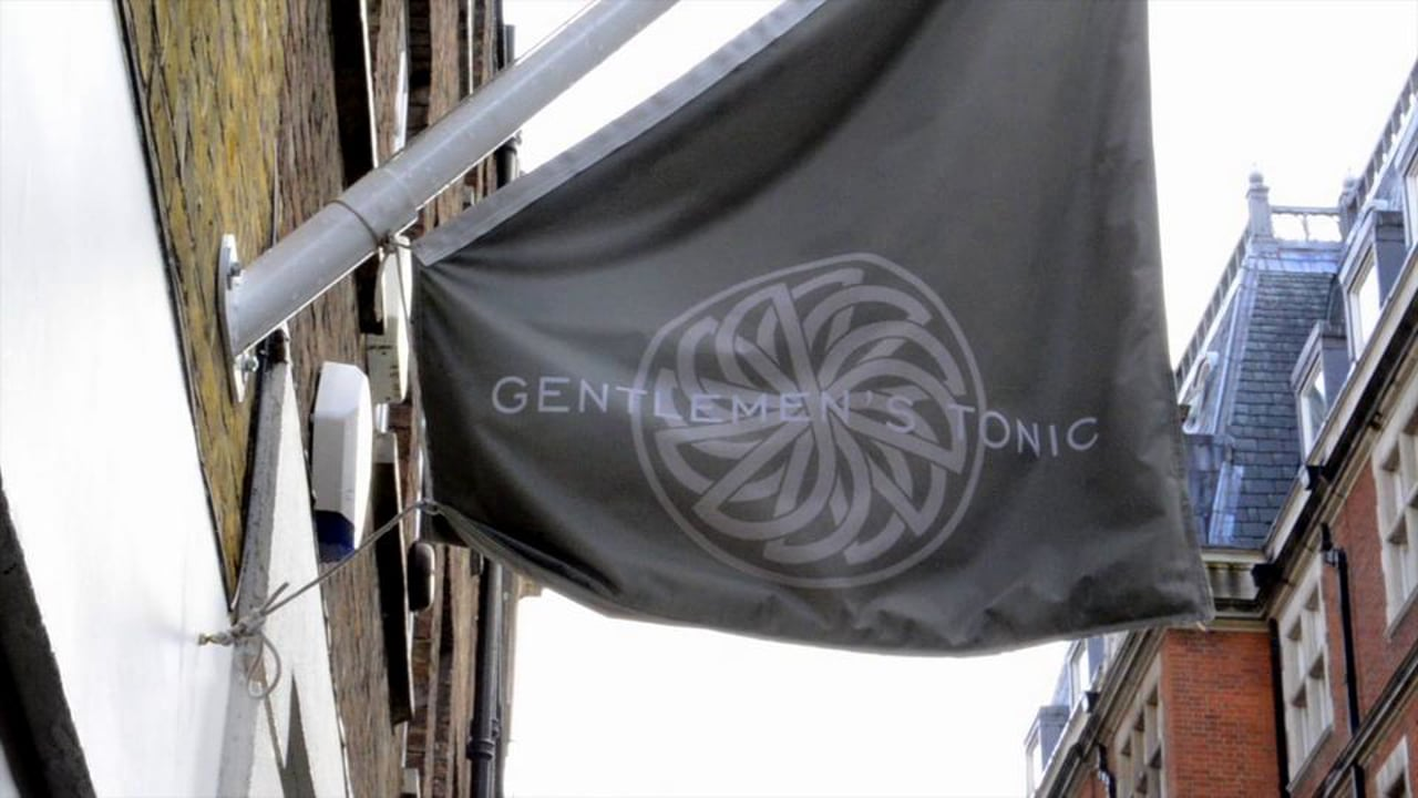 Hugh Harris event at Gentlemen's Tonic, Mayfair (May 2012)