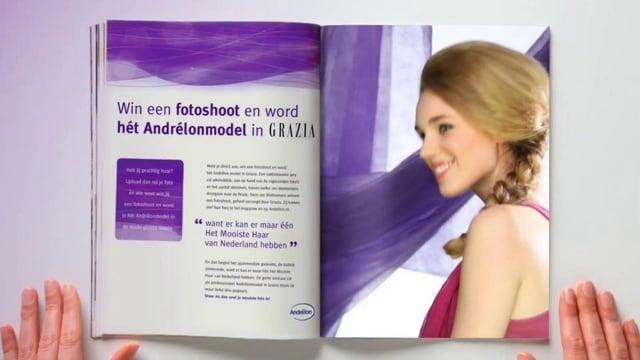 Tag On Andrelon 'Mooiste haar van Nederland'